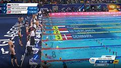 Rusia bate el récord del mundo de 4x50 estilos mixto en piscina corta