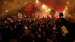 Pulso a las pensiones de Macron con la huelga en Francia