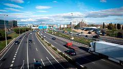 Dificultades en las vías de salida de Madrid y Barcelona al inicio del puente de la Constitución