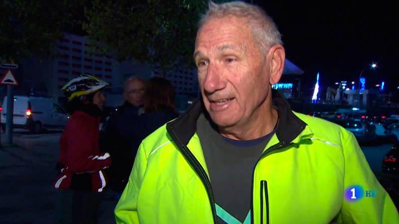 Un jubilado, de 77 años, desde Valencia a Madrid en Bicicleta para acudir a la cumbre del clima
