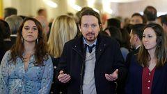 """Pablo Iglesias: """"Aquel que acuse a Podemos de un delito, que acuda a los tribunales"""""""