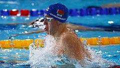 Shymanovich bate el récord de Europa de 100 braza en piscina corta