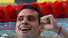 Andreas Vazaios fija un nuevo récord de Europa en los 200 estilos