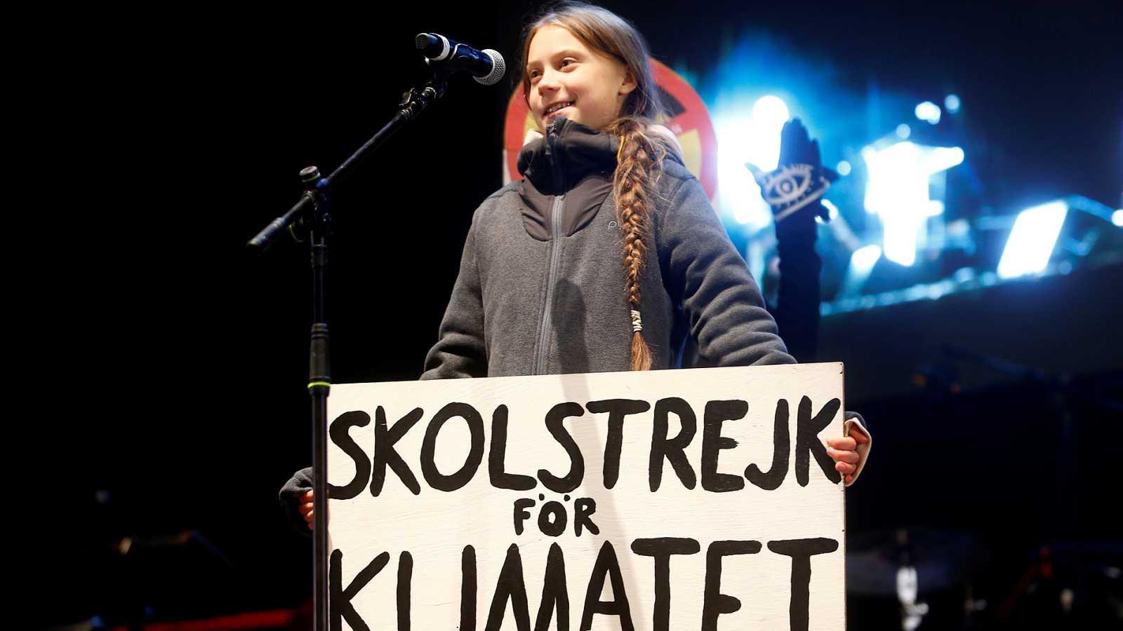 """Greta Thunberg: """"La esperanza no se encuentra entre los muros de la Cop25, sino en la calle con todos vosotros"""""""
