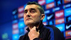 """Valverde """"No creo que la retirada de Messi sea ni ahora ni dentro de tres días"""""""