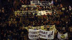 500.000 personas, según la organización, en la Marcha por el Clima de Madrid