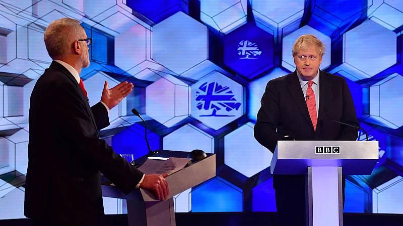 El 'Brexit' es el tema estrella del último cara a cara electoral entre Johnson y Corbyn - Ver ahora