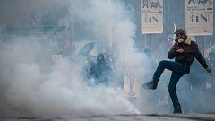 Tercer día de protestas en Francia contra el gobierno de Macron