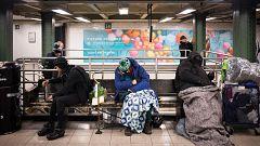 El drama de los sintecho en Nueva York
