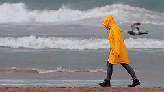 Vuelven las lluvias por el tercio noroeste peninsular y Pirineos