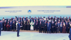 Medina en TVE - Congreso líderes religiosos. Bakú, 2019