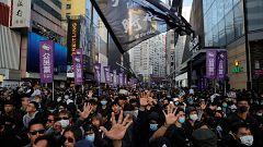 Transcurre sin incidencias una nueva manifestación masiva en Hong Kong