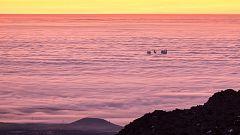 Nieblas en amplias zonas del interior que pueden ser localmente persistentes