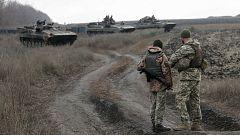 Los presidentes de Ucrania y Rusia se reúnen en París para negociar sobre el Donbás