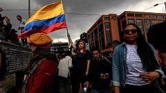 Nueva jornada de protestas en Bogotá contra el Gobierno de Iván Duque