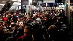 Caos circulatorio en París en la quinta jornada de huelga de transporte por la reforma de las pensiones