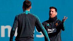 El Barça da descanso a Messi y Piqué para el intrascendente choque contra el Inter
