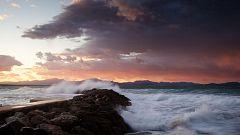 Intervalos de viento muy fuertes en zonas del noreste peninsular, Baleares y Canarias