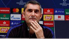 """Valverde: """"Messi descansa, quedan partidos importantes"""""""