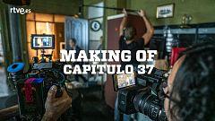 Estoy vivo - Making of - Así  se hizo el capítulo 37