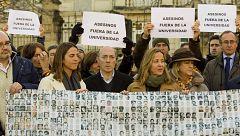 Víctimas de ETA claman contra la conferencia de un expreso de la banda en la Universidad del País Vasco