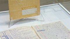 Se presentan 23 cuadernos manuscritos de Camilo José Cela