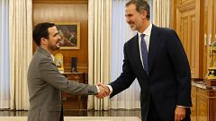 Felipe VI continúa la ronda de consultas con los líderes parlamentarios