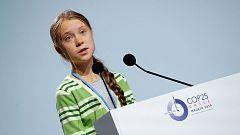 Greta Thunberg pide más implicación de los países ricos para llegar a las emisiones cero