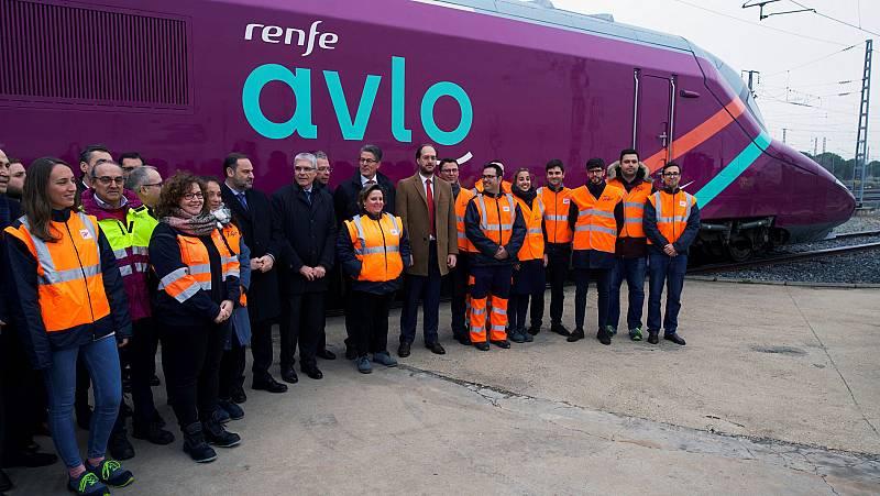 Renfe presenta AVLO, su AVE 'low cost' que echará a andar en abril