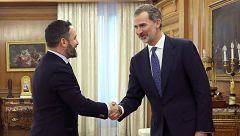 """Abascal hará una """"oposición frontal"""" a Sánchez porque su propuesta es """"una declaración de guerra a los españoles"""""""