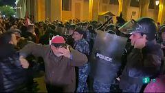 Continúan las protestas en Líbano