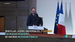 Polémica reforma de las pensiones en Francia