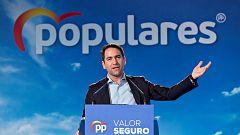 """García - Egea asegura que Sánchez """"no quiere el apoyo del constitucionalismo"""", pues """"ha elegido una vía de no retorno"""""""