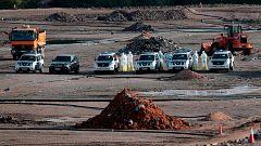 La Guardia Civil busca los restos de Marta Calvo en el vertedero de Dos Aguas