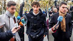 Condenan a los tres exjugadores de la Arandina a 38 años de cárcel por agresión sexual a una menor