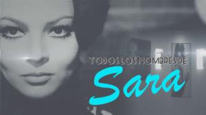 'Todos los nombres de Sara' - Avance