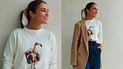 Corazón - Paula Echeverría y su nueva línea de ropa Space Flamingo
