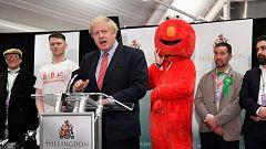 """Johnson celebra una victoria que le permitirá cumplir con el """"Brexit"""""""
