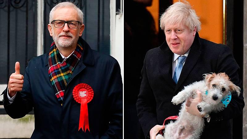Johnson y Corbyn, dos figuras opuestas en lo político y en lo personal