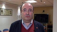"""Miquel Iceta: """"El PSC ha defendido siempre que Cataluña es una nación"""""""