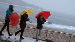 Alerta roja en Santander por vientos y fenómenos costeros