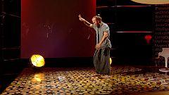 Punts de vista - El ballarí i coreògraf Diego Sinniger balla a plató amb una adaptació de l'espectacle 'Coma'