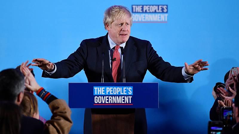 Johnson logra una amplia mayoría absoluta para culminar el 'Brexit'