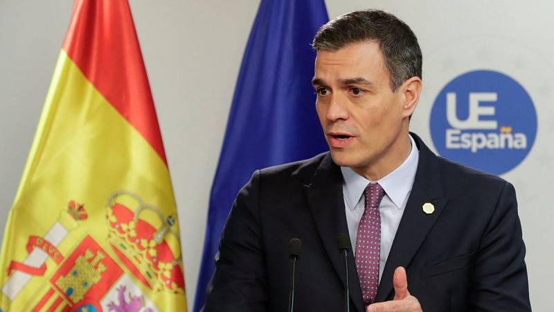 """Pedro Sánchez: """"Estamos preparados para un 'Brexit' ordenado"""""""