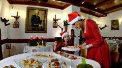 Menú navideño para niños
