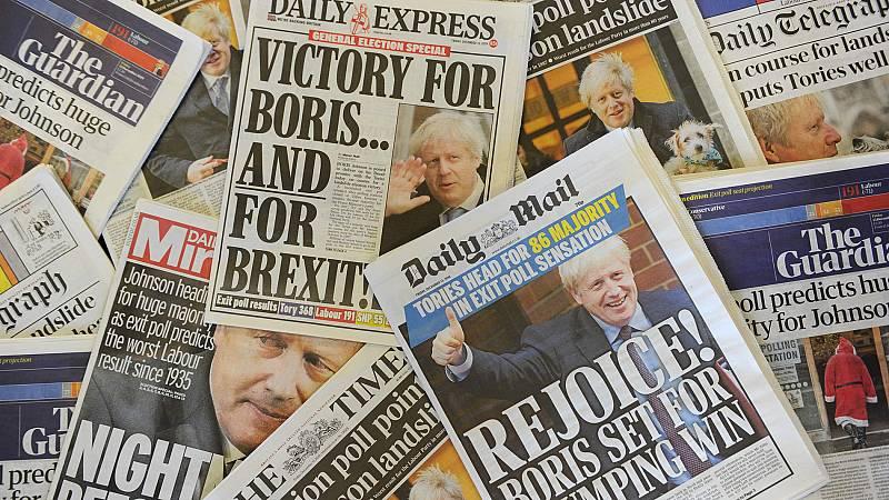 Boris Johnson logra una aplastante mayoría absoluta que le permitirá consumar el 'Brexit' en enero