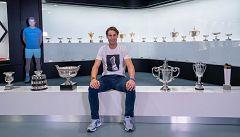 Rafa Nadal ya tiene sus trofeos de 2019 en casa