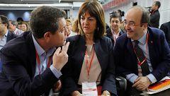 Iceta, Page y Lambán airean la tensión en el PSOE por la negociación con ERC
