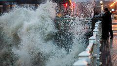 El temporal azota con fuertes vientos el norte de España