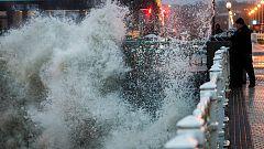 El temporal reduce su intensidad tras azotar el norte con fuertes vientos